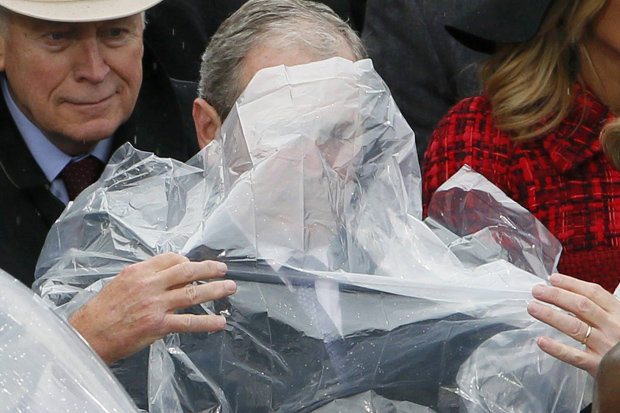 Donald-Trump-Inauguration-Day-George-W-Bush-Raincoat-Poncho-President-Speech-796518