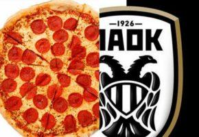Η δικέφαλη πίτσα ΠΑΟΚ είναι αυτό που χρειάζεται αυτή τη στιγμή η ομάδα της Θεσσαλονίκης (PHOTO)