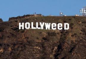 """Ένας τρισμέγιστος τύπος άλλαξε την επιγραφή """"HOLLYWOOD"""" σε """"HOLLYWEED"""" το βράδυ της πρωτοχρονιάς (PHOTOS)"""