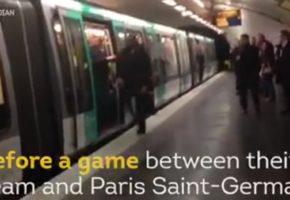 Φυλακή με αναστολή και πρόστιμο για την ρατσιστική συμπεριφορά οπαδών της Τσέλσι στο μετρό του Παρισιού το 2015 (VIDEO)