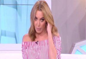 """Το λέμε κυριολεκτικά: Η Τατιάνα Στεφανίδου ρίχνει """"Άντε γεια"""" σε χρυσαυγίτη στην εκπομπή της (VIDEO)"""