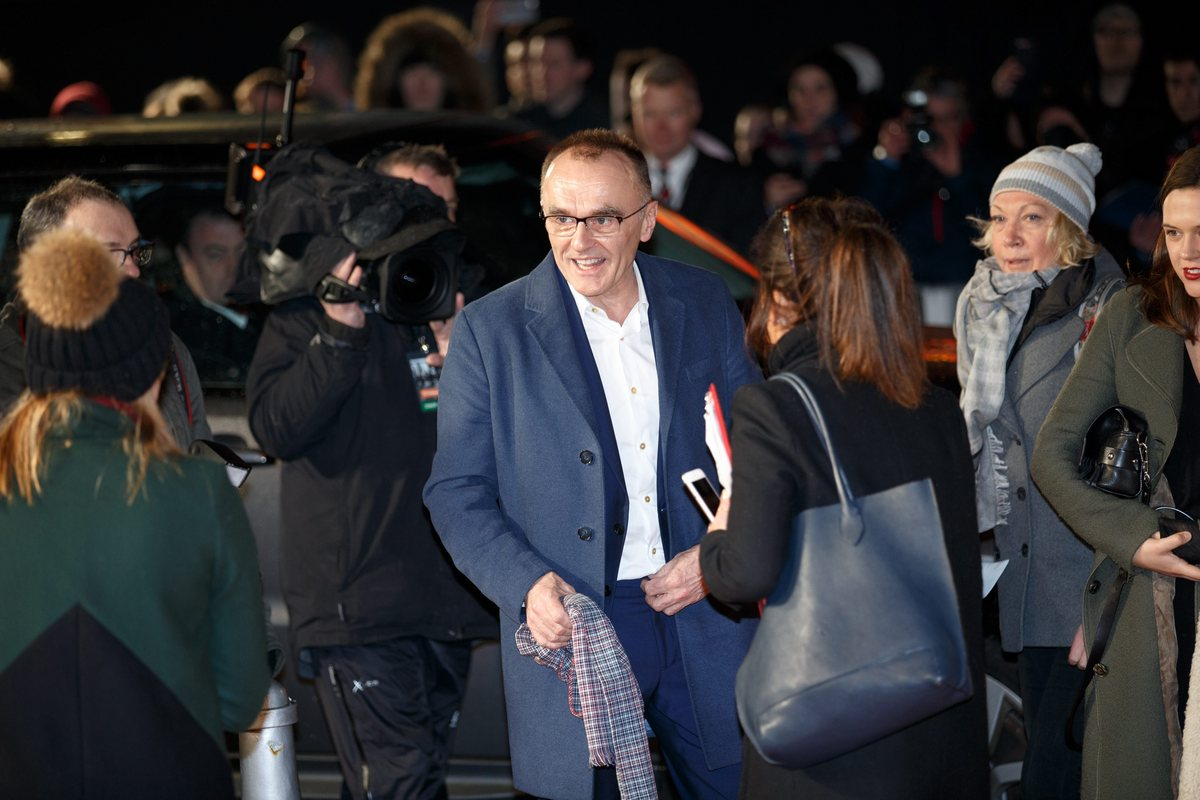 epa05742281 British director Danny Boyle attends for the 'T2 Trainspotting' World Premiere at Cineworld, Fountain Park, in Edinburgh, Scotland, Britain, 22 January 2016. The movie will be released in the UK on 27 January. EPA/ROBERT PERRY