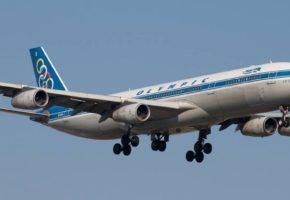 Πάει κι αυτό: Aπογειώθηκε χτες για άλλους τόπους το τελευταίο αεροπλάνο της Ολυμπιακής (VIDEO)