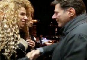 Θέλει ο γυπαετός της πολιτικής Μιλτιάδης Βαρβιτσιώτης να κρυφτεί και η χαρά δεν τον αφήνει (VIDEO)