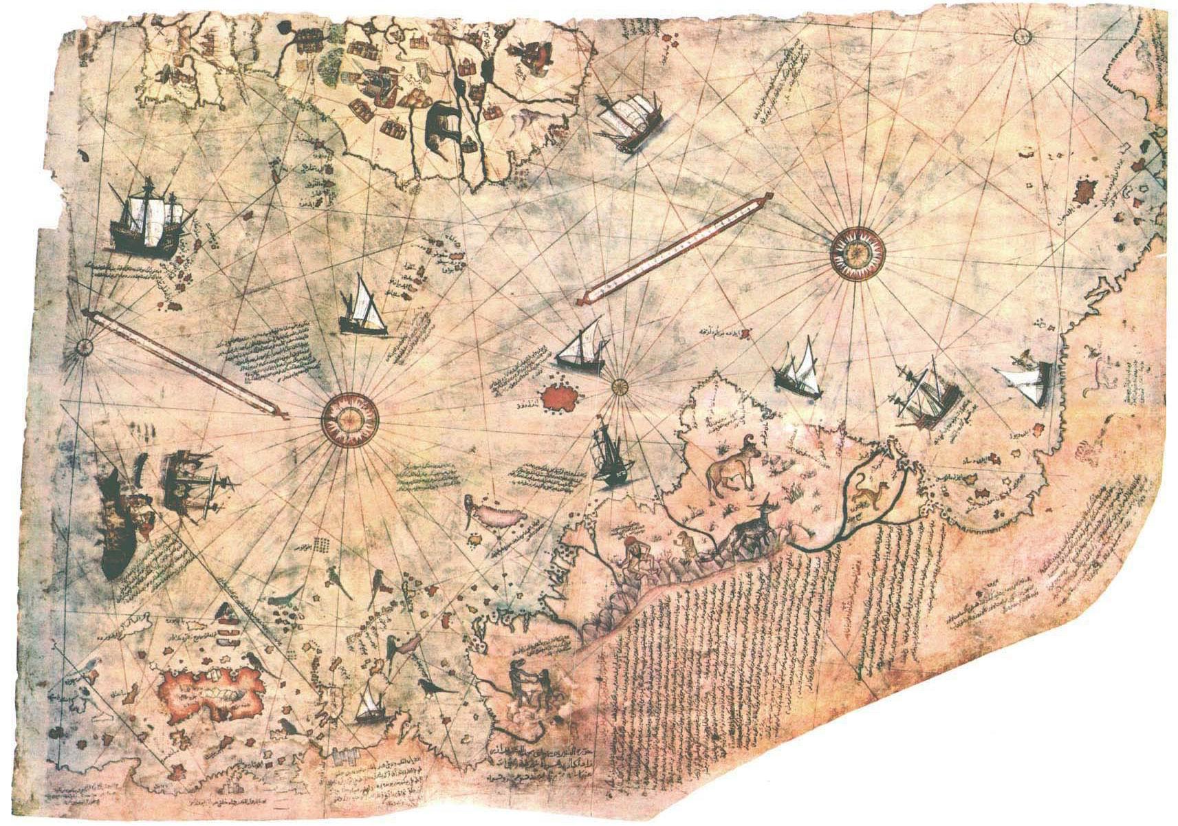 the-piri-reis-map-of-world-in-1513