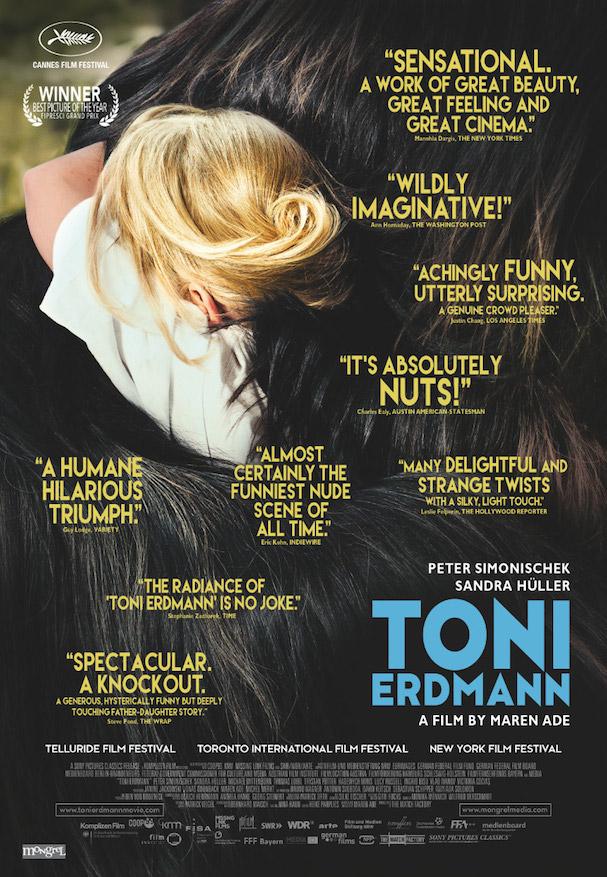 Η αφίσα του γερμανικού Toni Erdman που έχει ήδη πάρει παραμάζωμα ένα σκασμό βραβεία