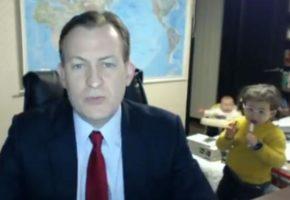 Tα παιδιά σου είναι σατανάδες ακόμη κι αν είσαι ανταποκριτής του BBC και μιλάς στην κάμερα (VIDEO)
