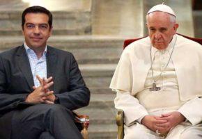 Δυστυχώς για μας ο Πάπας Φραγκίσκος ευχαρίστησε τον Αλέξη Τσίπρα για όσα κάνει