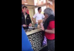 O Γνωστός Τούρκος Παγωτατζής γλεντάει τον Τάκη Τσουκαλά (VIDEO)